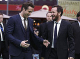 Ryan Reynolds and Peter Sarsgaard chatted.