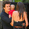 Miranda Kerr, Orlando Bloom, Flynn Bloom Lunch Pictures