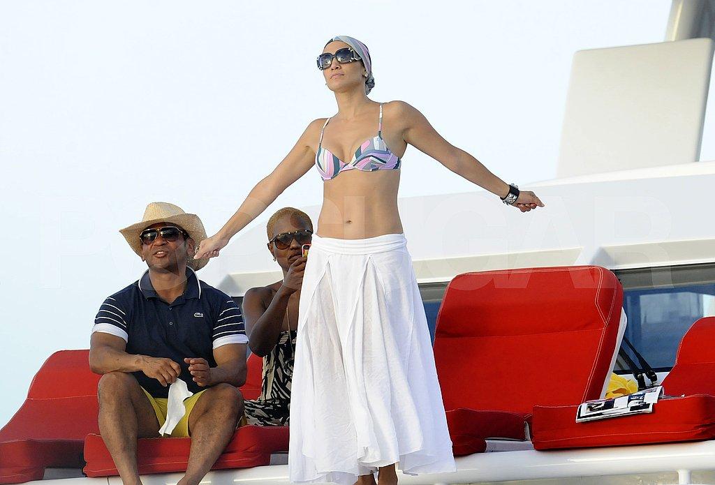 Jennifer Lopez in Pucci.