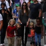 Video of Angelina Jolie and Her Kids at the London Aquarium