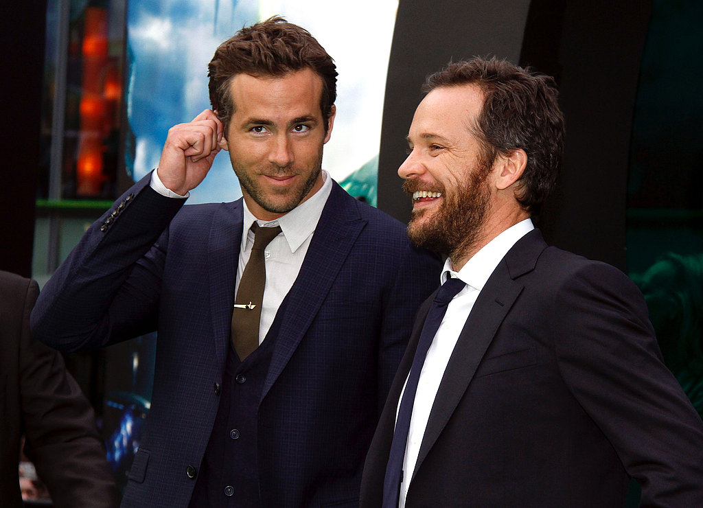 Ryan Reynolds and Peter Sarsgaard debuted their movie in Berlin.