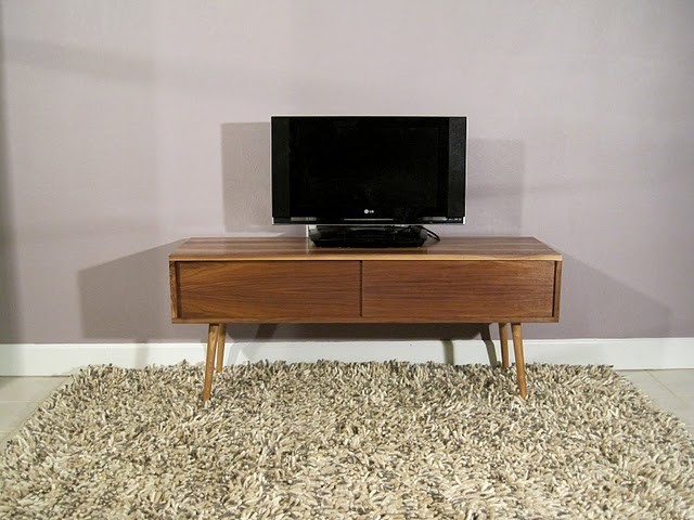 Walnut TV Media Cabinet ($650)