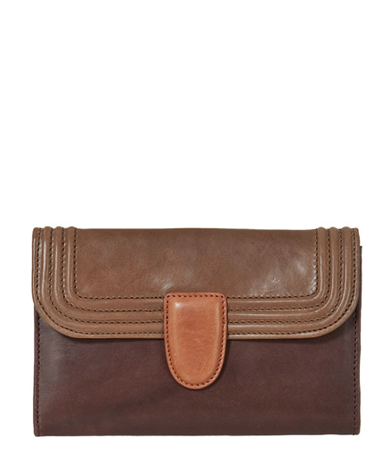 Zara Leather Wallet ($13, originally $80)