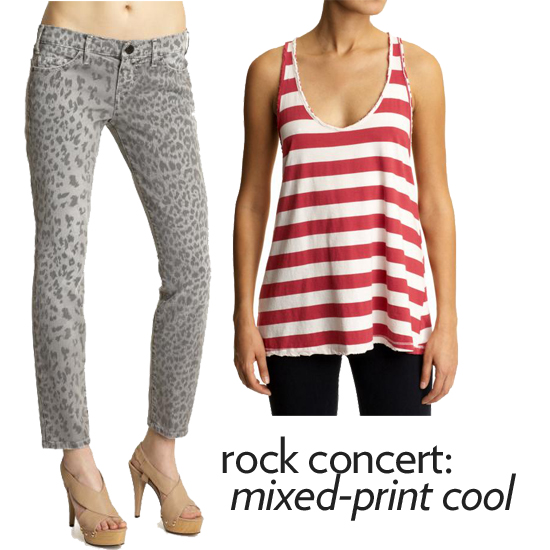 What to Wear: Rock Concert