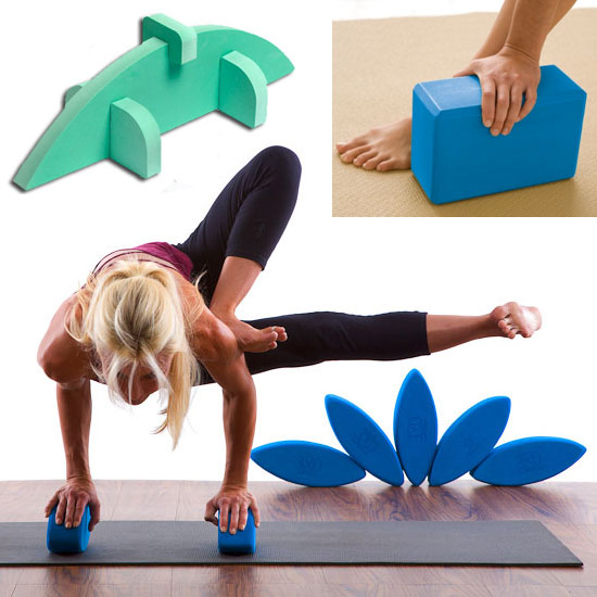 Yoga Blocks Come in All Shapes and Sizes