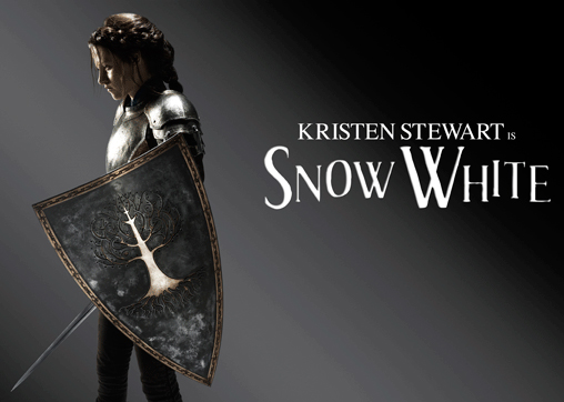 See Pics of Kristen Stewart Ready For Battle as Snow White