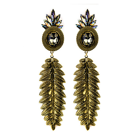 Nicole Romano Luisa Earrings, $300