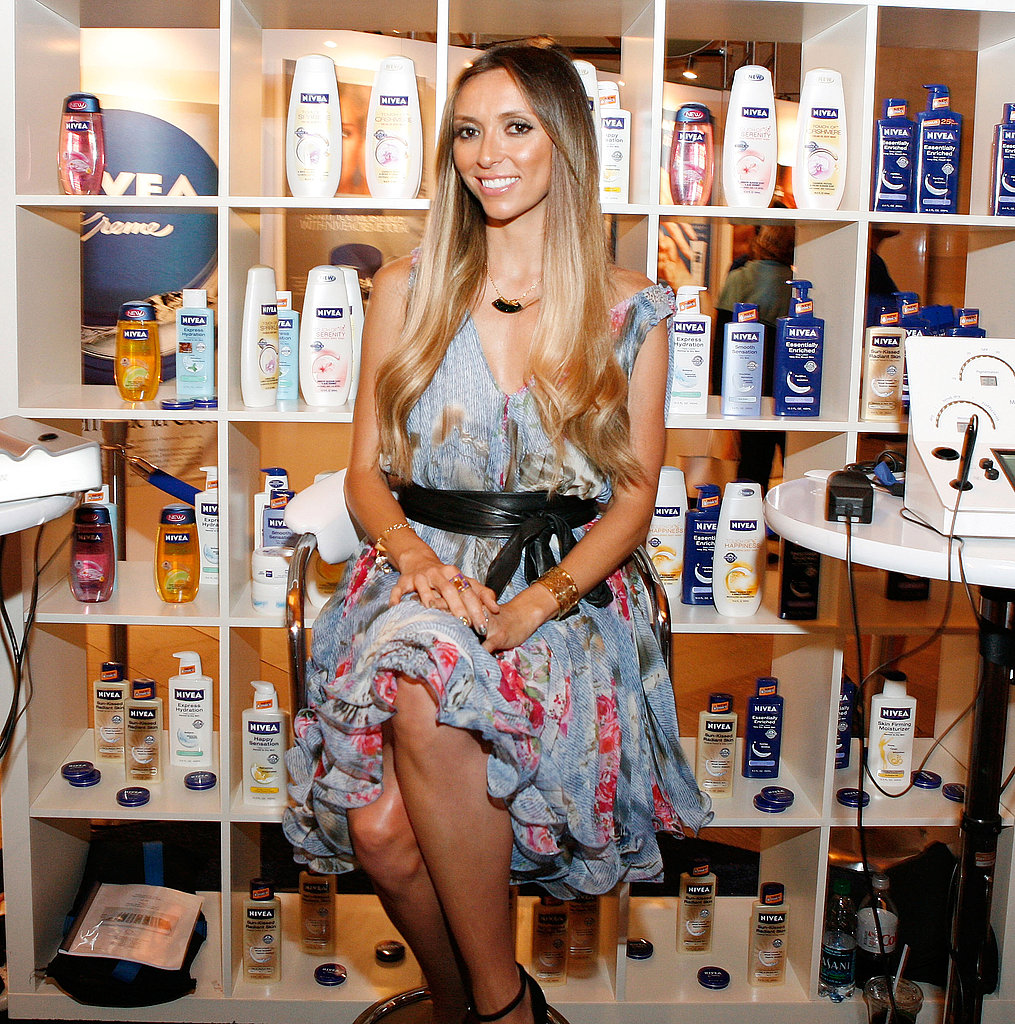 "Giuliana Rancic used Nivea products as a child in Italy and also worked with the brand on 2010's New Year's Eve. She said, ""I can always look back to an emotional moment in my life that relates to Nivea."""