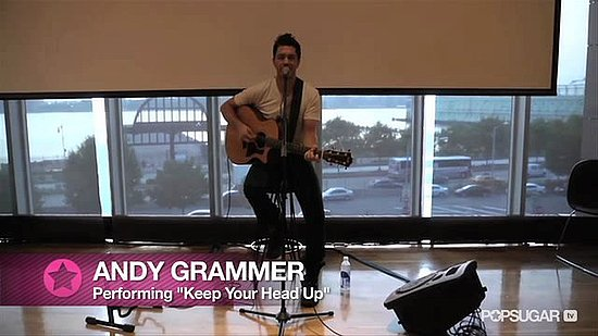 "Video: Rising Star Andy Grammer on Taylor Swift, Love, and ""Keep Your Head Up"""