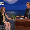 Emma Stone on Angelina Jolie at Conan (Video)