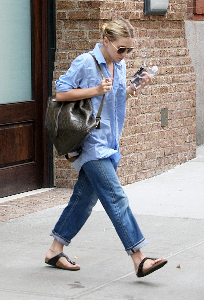 Ashley Olsen wears The Row.