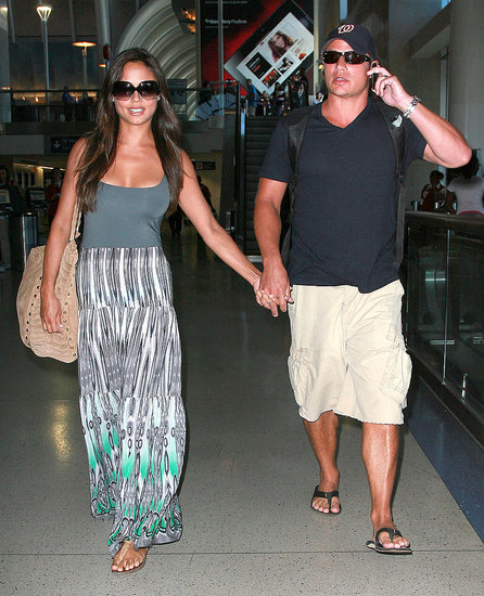 Nick Lachey and Vanessa Minnillo Pictures After Honeymoon
