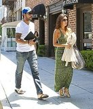 Eva Longoria and Eduardo Cruz lunched in Beverly Hills.