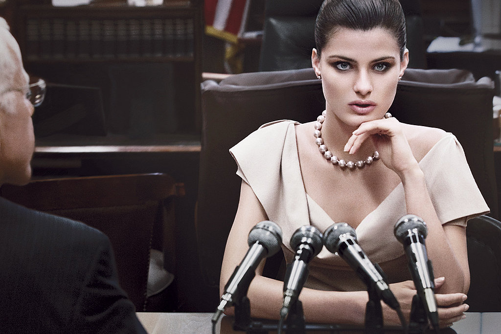 Donna Karan's Fall 2011 Ad Campaign With Isabeli Fontana