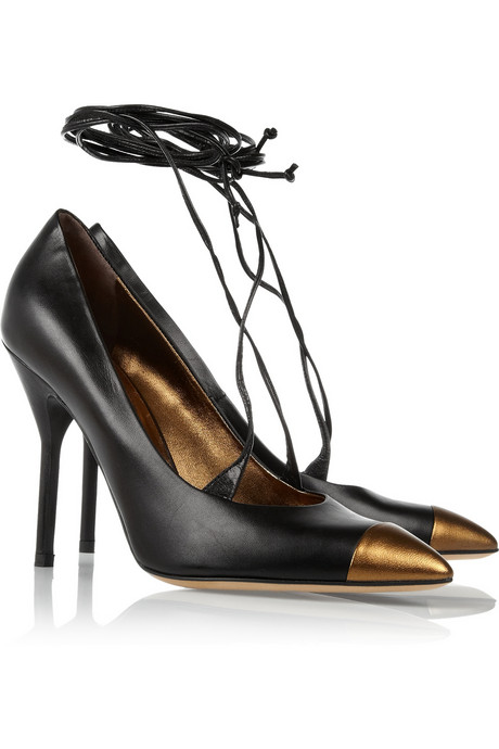 Yves Saint Laurent Opyum Leather Pumps ($795)