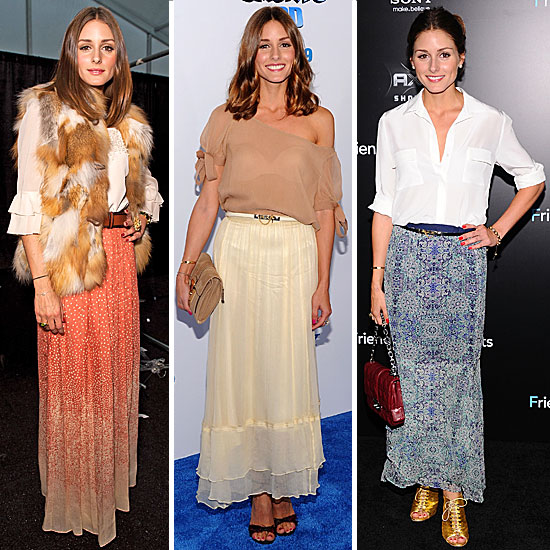 Five Maxi Skirt Styling Tricks from Olivia Palermo