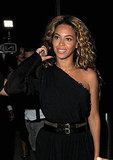 Beyoncé Knowles parties in NYC.