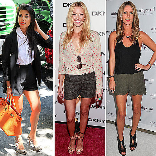 Celebrities Wearing Shorts: How to Get the Look