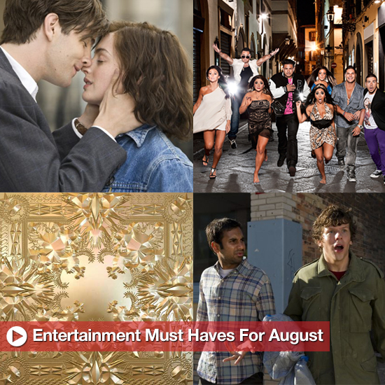 Editor's Picks: Entertainment Must Haves For August