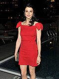 Rachel Weisz in red.
