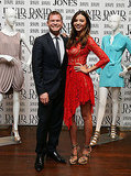 Miranda Kerr and Sacha Laing at Sydney's David Jones.
