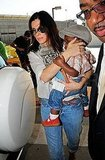 Sandra Bullock with son Louis Bullock.