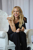 Rachel Zoe with Exude lipstick.