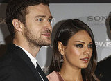 Mila Kunis met up with Justin Timberlake in Berlin.