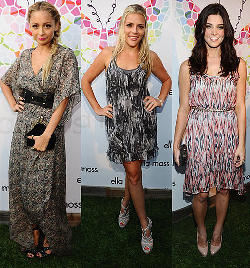 Nicole, Ashley, and Busy Have a Ladies' Night Out in Support of Ella Moss