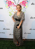 Nicole Richie at an Ella Moss party in a maxi.