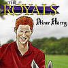 Prince Harry Comic Book