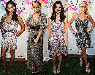Ashley Greene and Nicole Richie at Ella Moss Party