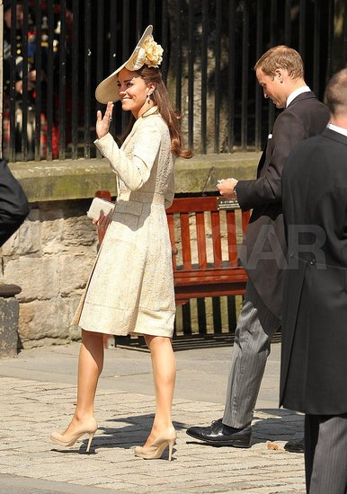 Kate and William Arrive For Zara and Mike's Wedding!