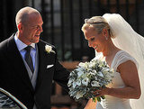 Zara Phillips and Mike Tindall share a sweet moment.