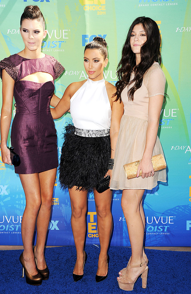 The Kardashian Sisters Are Out in Full Force and Sexy Fashions For the Teen Choice Awards!