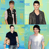 Justin Bieber Rolls Solo, Ian Somerhald Smolders, and Taylor Lautner Represents For Twilight at the Teen Choice Awards!