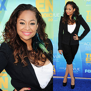 Raven-Symone at 2011 Teen Choice Awards