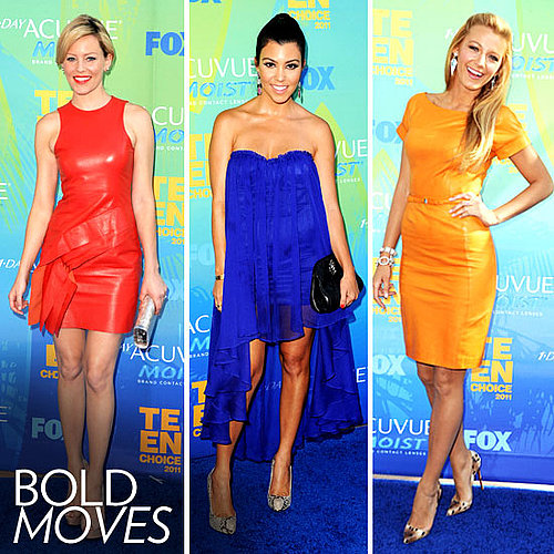 Dresses at the 2011 Teen Choice Awards
