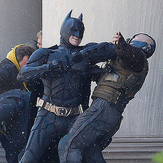 The Dark Knight Rises Pictures of Tom Hardy, Christian Bale, Marion Cotillard