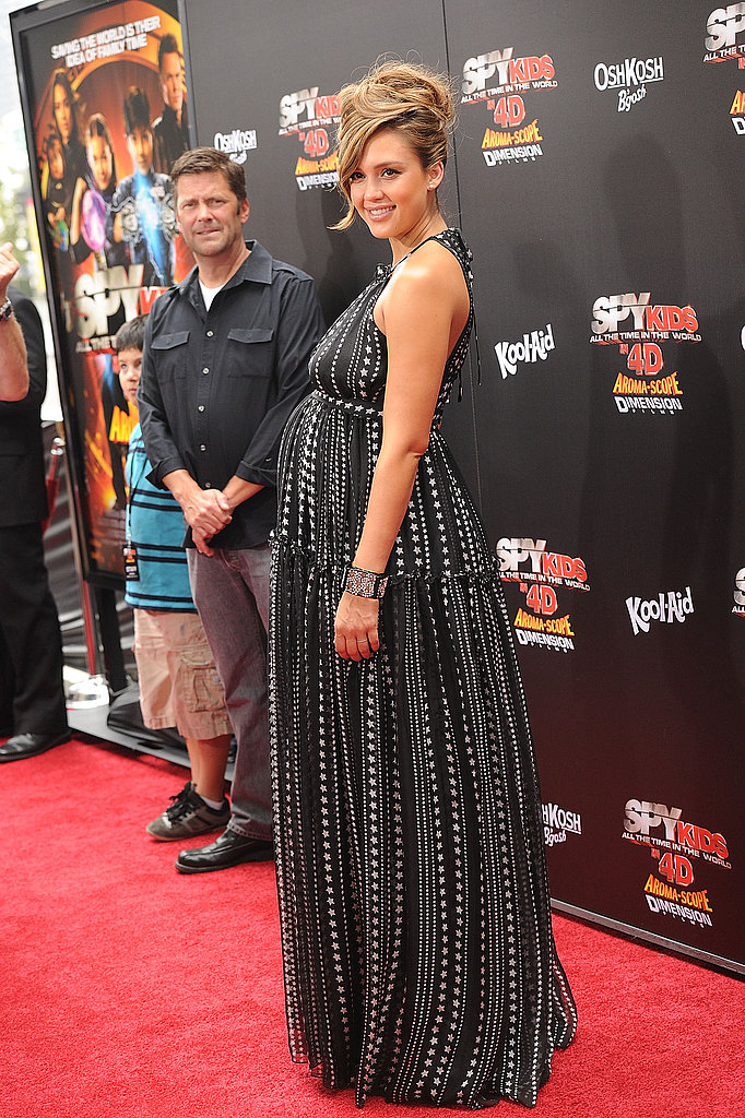 Jessica Alba at the Spy Kids premiere.