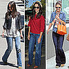 Katie Holmes Wearing Wide Leg Jeans 2011-08-01 12:32:52