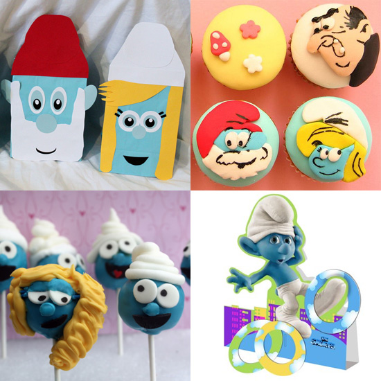 Smurftastic! How to Throw a Smurf-Themed Birthday Bash