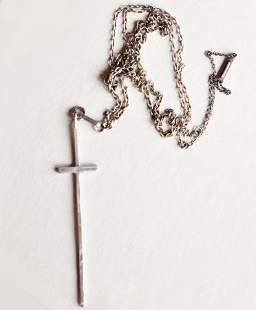 Cross Necklace, $245