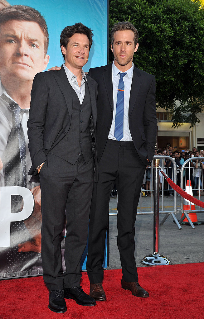 The Change-Up costars Ryan Reynolds and Jason Bateman.