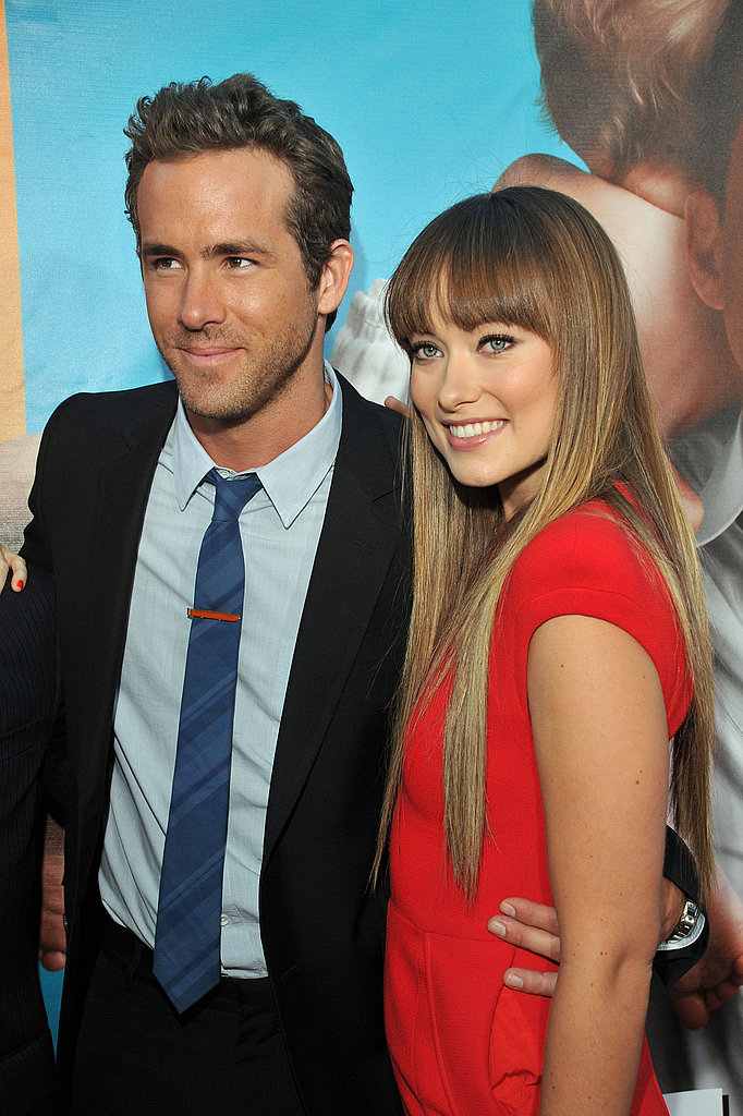 Ryan Reynolds and Olivia Wilde at The Change-Up premiere.