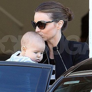 Miranda Kerr Pictures With Son Flynn Bloom