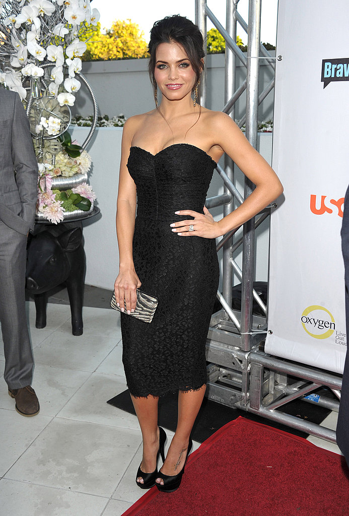 Jenna Dewan at NBC all-star party.