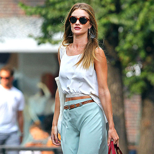 Rosie Huntington-Whiteley and Erin Heatherton Pictures in NYC