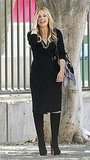 Sarah Michelle Gellar sported knee-high boots.