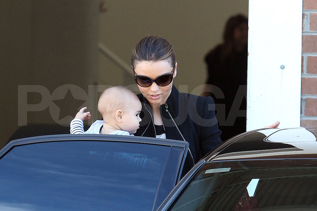 Miranda Kerr with Flynn Bloom in Australia.